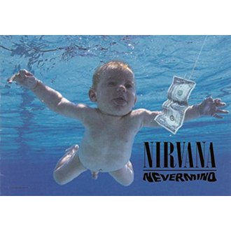 Flagge Nirvana - Nevermind, HEART ROCK, Nirvana
