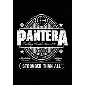 Flagge Pantera - Beer Label, HEART ROCK, Pantera