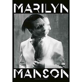 Flagge Marilyn Manson - Seven Days Binge, HEART ROCK, Marilyn Manson