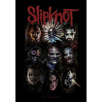 Flagge Slipknot - Oxidized, HEART ROCK, Slipknot