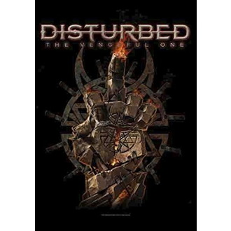 Flagge Disturbed - The Vengeful One, HEART ROCK, Disturbed