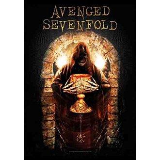 Flagge Avenged Sevenfold - Golden Arch, HEART ROCK, Avenged Sevenfold