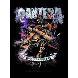 Fahne Pantera - Cowboys From Hell, HEART ROCK, Pantera