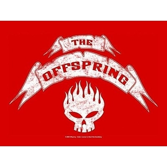 Fahne Offspring - Banner, HEART ROCK, Offspring