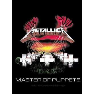 Fahne Metalllica - Master Of Puppets, HEART ROCK, Metallica