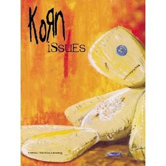 Fahne Korn - Issues, HEART ROCK, Korn