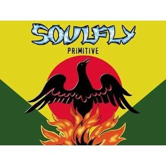 Fahne Soulfly - Primitiv, HEART ROCK, Soulfly