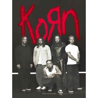 Fahne Korn - Hanger, HEART ROCK, Korn