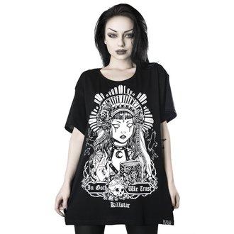 Damen T-Shirt KILLSTAR - In Goth We Trust Relaxed, KILLSTAR