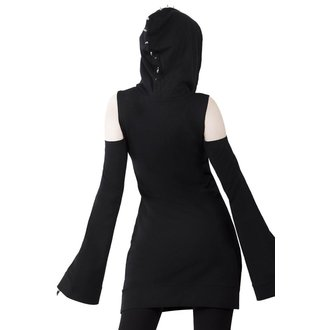 Damen Kleid KILLSTAR - Iza Jersey - SCHWARZ, KILLSTAR