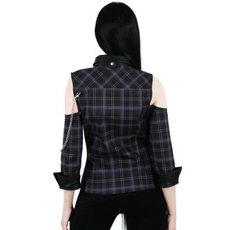 Damen Hemd KILLSTAR - Kalista Teachers Pet - TARTAN, KILLSTAR