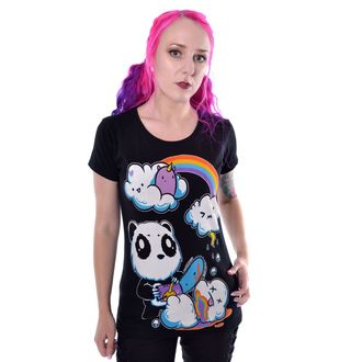 Damen T-Shirt - CLOUDS - KILLER PANDA, KILLER PANDA