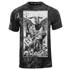 Herren T-Shirt Hardcore - DEVIL - AMENOMEN - OMEN094KM ALLPRINT WEISS