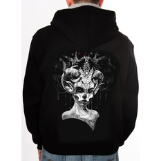Herren Hoodie - Day of the Dead - ART BY EVIL, ART BY EVIL
