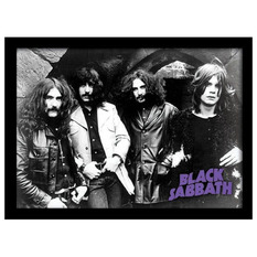 Poster mit Bilderrahmen Black Sabbath - Photo - PYRAMID POSTERS, PYRAMID POSTERS, Black Sabbath