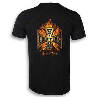 Herren T-Shirt - IN FLAMES - West Coast Choppers, West Coast Choppers