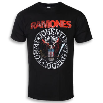 Herren T-Shirt Metal Ramones - Eagle Seal - ROCK OFF, ROCK OFF, Ramones