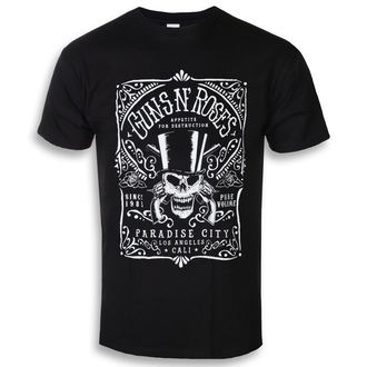 Herren T-Shirt Metal Guns N' Roses - Bourbon - ROCK OFF, ROCK OFF, Guns N' Roses