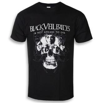 Herren T-Shirt Metal Black Veil Brides - I'm Not Afraid To Die - ROCK OFF, ROCK OFF, Black Veil Brides