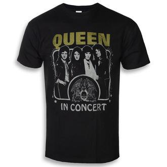 Herren T-Shirt Queen - In Concert - ROCK OFF, ROCK OFF, Queen