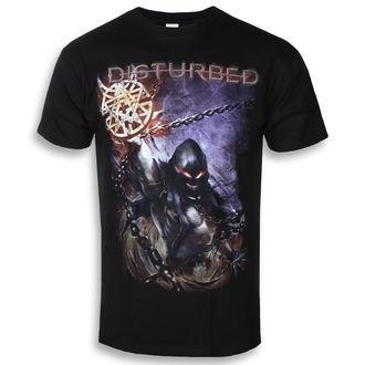 Herren T-Shirt Metal Disturbed - Vortex - ROCK OFF, ROCK OFF, Disturbed