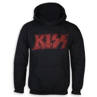 mikina pánská Kiss - Slashed Logo - ROCK OFF, ROCK OFF, Kiss