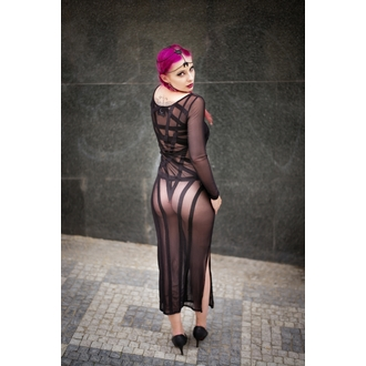 Kleid Ladies KILLSTAR - Zandra Mesh - Black, KILLSTAR