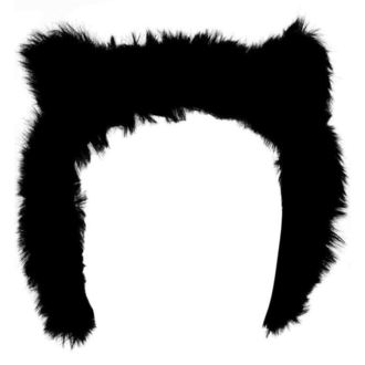 Earmuffs KILLSTAR - Le Chat Noir Ear Muffs - Schwarz, KILLSTAR