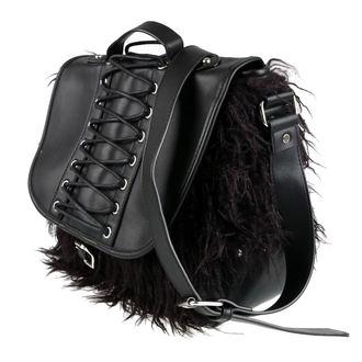 Handtasche (Geldbörse) KILLSTAR - LOKE FUR - SCHWARZ, KILLSTAR