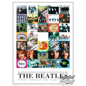 Poster - The Beatles - Through the Years - LP0594, GB posters, Beatles