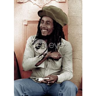 Poster - BOB MARLEY Rolling 2 - GB posters, GB posters, Bob Marley