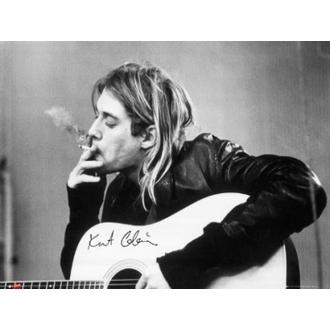 Poster - Nirvana - Kurt Cobain - smoking - LP1151, GB posters, Nirvana