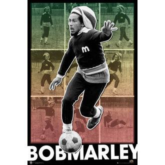 Poster Bob Marley - Football S.O.S. - GB Posters, GB posters, Bob Marley