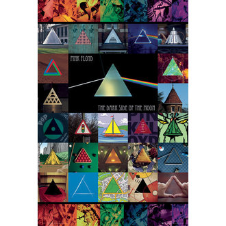 Poster Pink Floyd - DSOM Immersion - GB Posters, GB posters, Pink Floyd