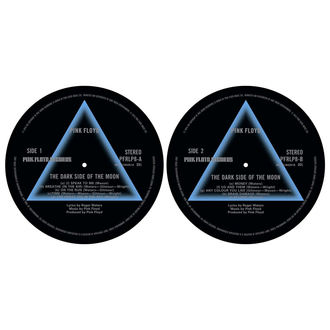 Grammophonmatte (Set mit 2 Stück) PINK FLOYD - DARK SIDE OF THE MOON - RAZAMATAZ, RAZAMATAZ, Pink Floyd