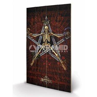 Holzbild Alchemy (Alchantagram) - Pyramid Posters, ALCHEMY GOTHIC