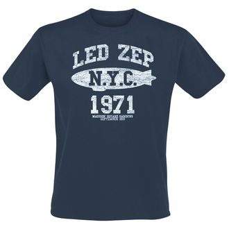 Herren T-Shirt Metal Led Zeppelin - NYC 1971 -, Led Zeppelin