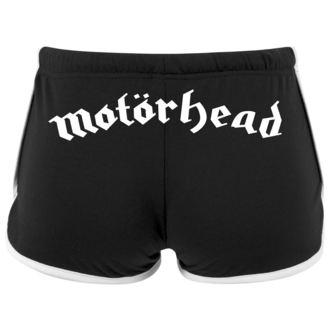 Damen Shorts Motörhead - Logo - URBAN CLASSICS, NNM, Motörhead