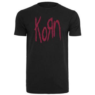 Herren T-Shirt Metal Korn - Logo -, Korn