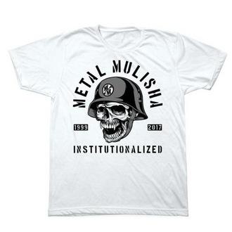 Herren T-Shirt Street - INSTITUTIONLIZED - METAL MULISHA - M1851831.01, METAL MULISHA