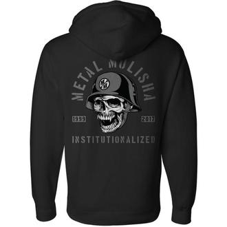 Herren Hoodie - INSTITUTIONALIZED - METAL MULISHA, METAL MULISHA