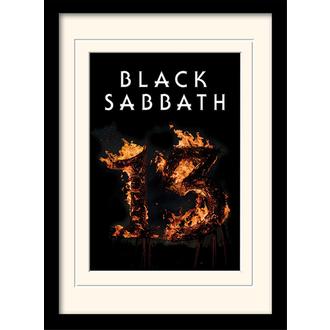 Poster mit Bilderrahmen Black Sabbath - (&&string0&&) - PYRAMID POSTERS, PYRAMID POSTERS, Black Sabbath