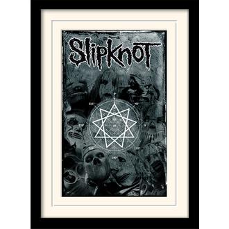 Poster mit Bilderrahmen Slipknot - (&&string0&&) - PYRAMID POSTERS, PYRAMID POSTERS, Slipknot