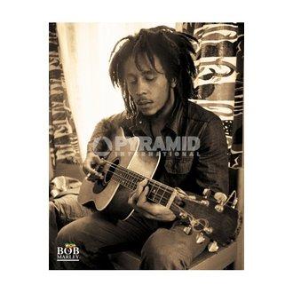 Poster Bob Marley (Sitting) - MPP50272, PYRAMID POSTERS, Bob Marley