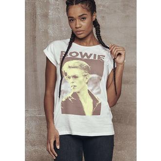 Damen T-Shirt Metal David Bowie - URBAN CLASSIC - URBAN CLASSIC, URBAN CLASSICS, David Bowie