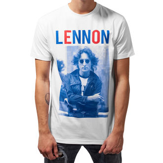 Herren T-Shirt Metal Beatles - John Lennon - URBAN CLASSICS, Beatles