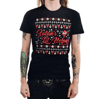 Herren T-Shirt Gothic Punk - SATAN'S LIL HELPER EVIL - TOO FAST, TOO FAST