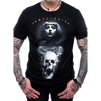 Herren T-Shirt - Bullet - ART BY EVIL, ART BY EVIL
