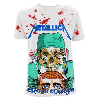 Herren T-Shirt Metal Metallica - Crash Course In Brain Surgery -, NNM, Metallica