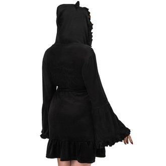 Damen Bademantel KILLSTAR - NIGHT MARRY - SCHWARZ, KILLSTAR